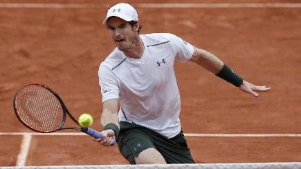 Murray beats Isner at French Open